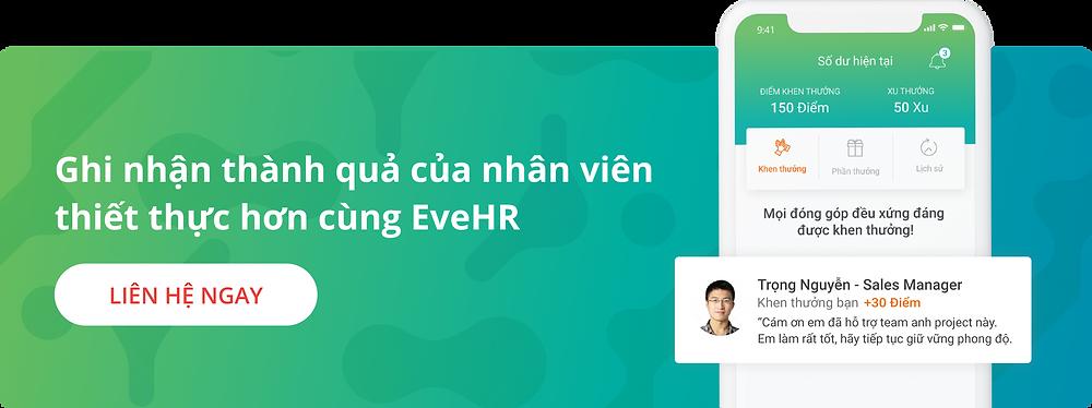 Nền tảng Phúc lợi và Khen thưởng nhân viên EveHR