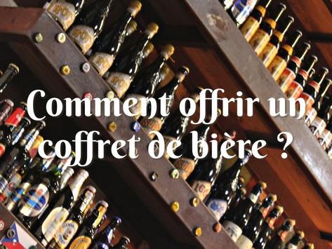 Comment offrir une box de bière sur Coffret Bière ?