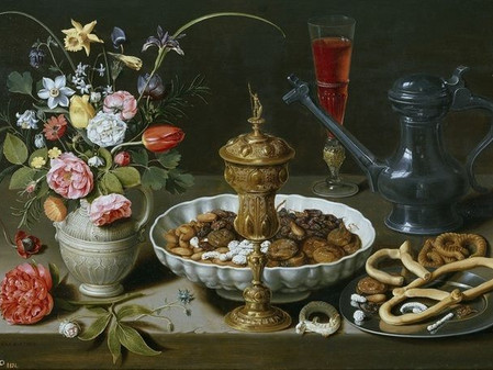 Evolution Of The Still Life In The North and Spain