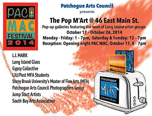 PAC POP M'art 2014 Card