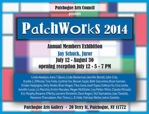 PAC Patchworks 2014 card
