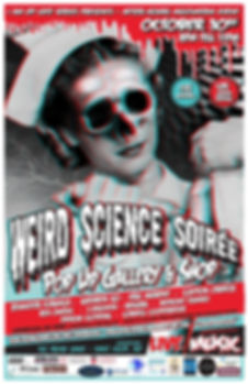IAM Weird Science 2015 Card