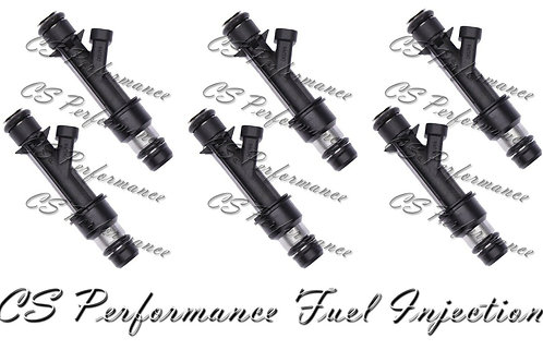 OEM Delphi Fuel Injectors Set (6) 25321207 for 1999-2002 Oldsmobile 3.5L V6