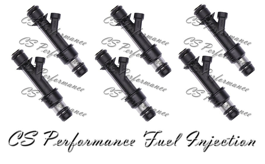 OEM Delphi Fuel Injectors Set (6) 25321207 for 1999-2002 Oldsmobile 3.5L V6