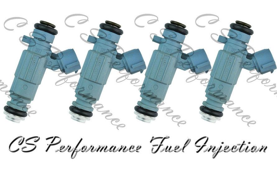 OEM Fuel Injectors Set for Hyundai Kia (4) 35310-38010 1999-2006 2.4L I4 4-Hole