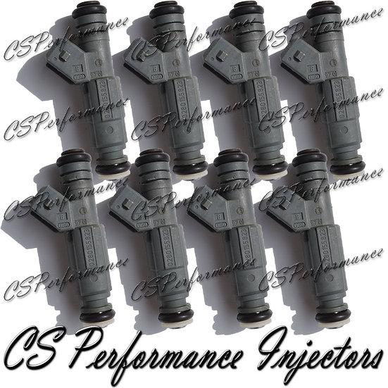 OEM Bosch Fuel Injectors Set (8) 0280155823 for 99-05 BMW Land Rover 4.4 4.6 V8