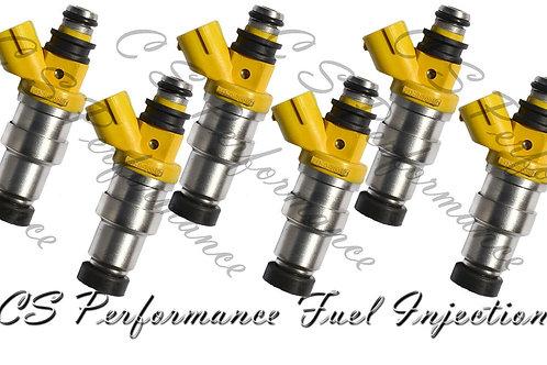 OEM Denso Fuel Injectors Set (6) 23250-70040 for 1986-1988 Toyota Supra 3.0L I6