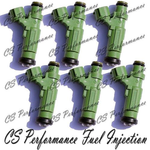 OEM Jecs Fuel Injectors (4) Set HDB250 for 04-07 Mitsubishi Lancer 2.0 I4 05 06