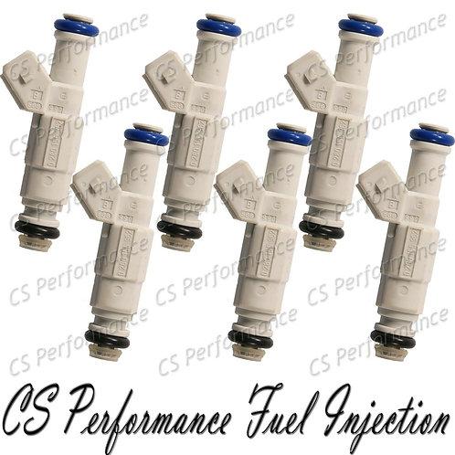 OEM Bosch Fuel Injectors Set (6) 0280155962 for 1998-2001 Ford Mazda 4.0L V6