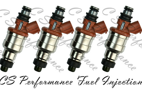 OEM Denso Fuel Injectors Set (4) 195500-2120 Rebuilt by Master ASE Mechanic USA