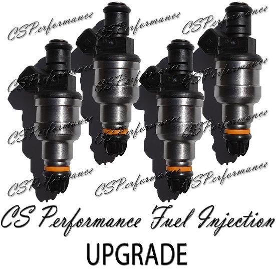 Bosch II UPGRADE Fuel Injectors (4) 1981-1984 Volvo 2.3L I4 Replaces 0280150209