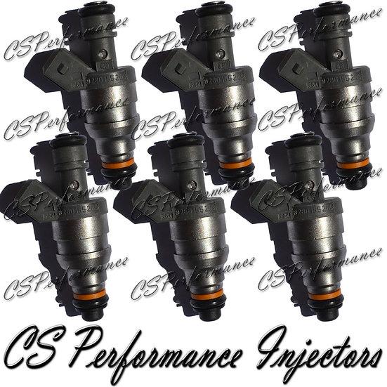 OEM Bosch Fuel Injectors Set (6) 0280155209 for 93-97 Mercedes-Benz 2.8 3.2 3.6
