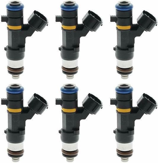 OEM Bosch Fuel Injectors Set (6) 0280158042 for 04-08 Infiniti Nissan 3.5L V6