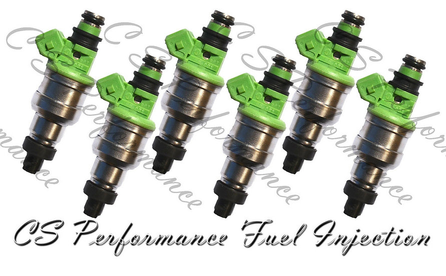 OEM Nikki Fuel Injectors Set (6) INP-061 for 1991-1995 Mitsubishi Dodge 3.0L V6