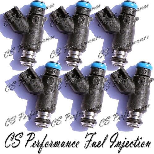 6x Delphi Fuel Injectors Set 12592648 for Buick Chevy Pontiac Saturn 3.5 3.9 V6