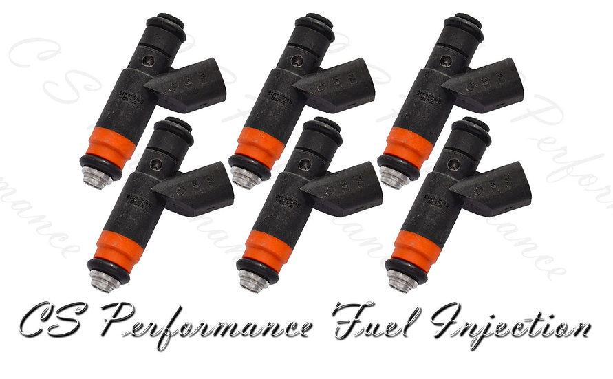 OEM Siemens Fuel Injectors Set (6) 04591657AA for 2000 Chrysler Dodge 2.7L V6
