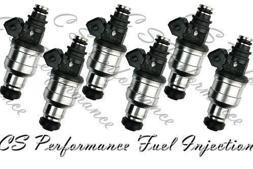 OEM Nikki Fuel Injectors Set (6) INP-533 for 1994-1999 Mitsubishi Dodge 3.0L V6