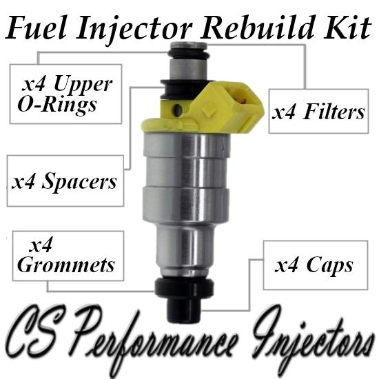 Fuel Injectors Rebuild Repair Kit fits 195500-1330 for 86-87 Mazda 626 2.0L 2.0
