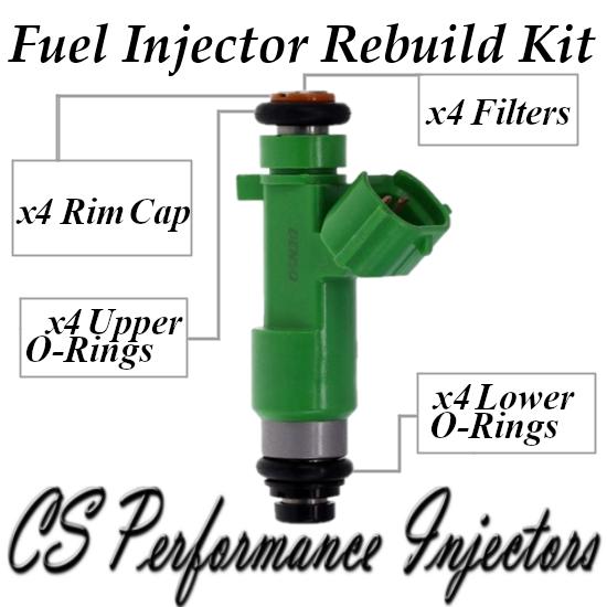 Fuel Injectors Rebuild Kit Fits 195500-0940 Set For 2007-2015 Nissan 2.5L I4