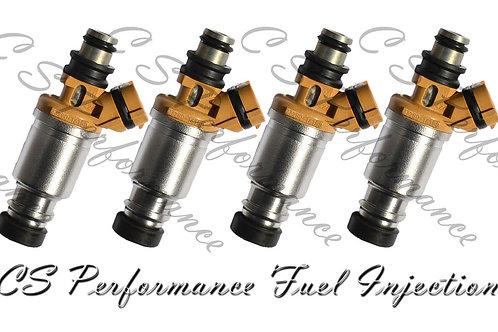 OEM Denso Fuel Injectors Set (4) 23250-16150 for 1993-1997 Geo Toyota 1.6L I4