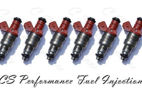 OEM Siemens Fuel Injectors Set (6) 0000788523 for 1995-1997 Mercedes 2.8 3.2 I6