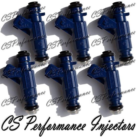 OEM Bosch Fuel Injectors Set (6) 0280156014 for Mercedes 3.2L 2.6L V6 Crossfire