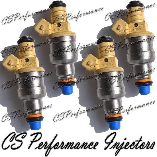 OEM Bosch Fuel Injectors Set (4) 0280150955 for 1995-2002 Volkswagen 2.0L I4