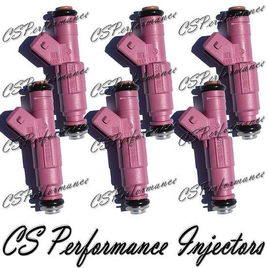 OEM Bosch Fuel Injectors Set (6) 0280155832 for 1999 Volvo S80 2.9L I6