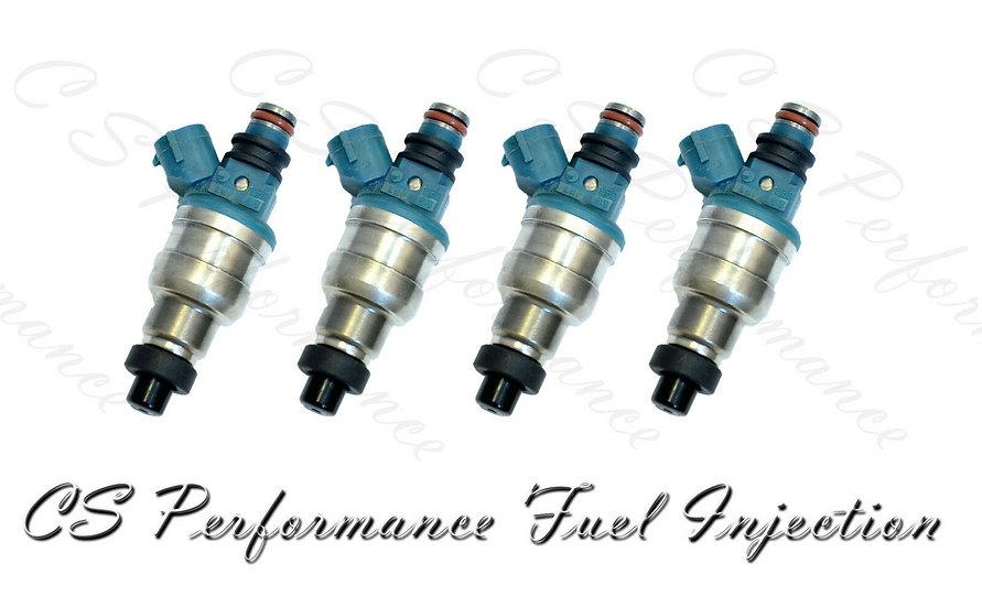 OEM Nikki Fuel Injectors Set (4) INP-480 for 1993-1999 Mazda Ford 2.0L L4