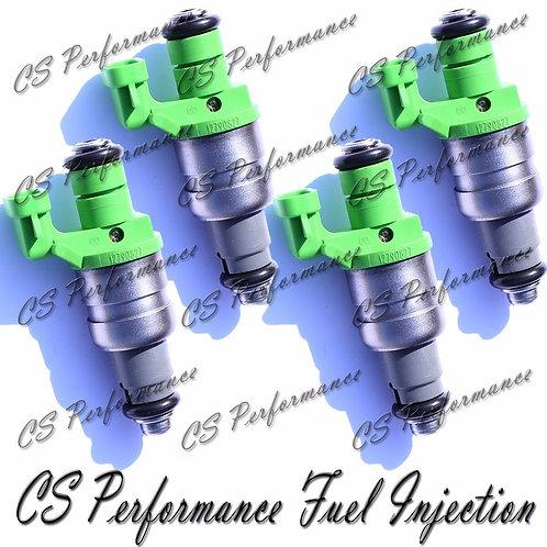 OEM Siemens Fuel Injectors Set (4) 12790827 for 2003-2007 Chevy Saab Saturn 2.0