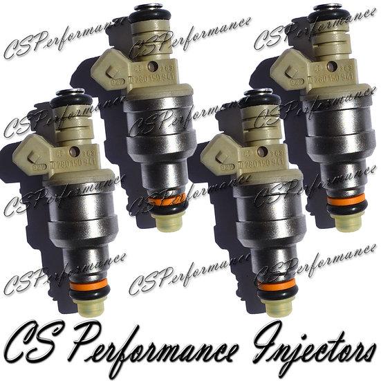 OEM Bosch Fuel Injectors Set (4) 0280150941 for 90-96 Ford Mercury 1.9L 2.3L I4