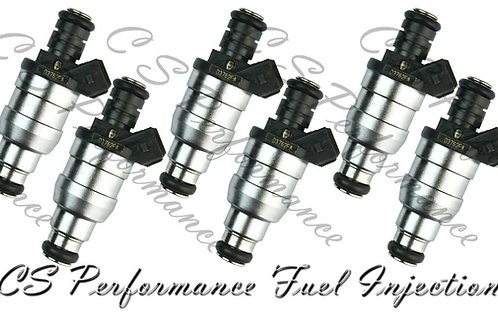 OEM Lucas Fuel Injectors (6) Set D3762FA for 87-93 BMW 2.5L I6 88 89 90 91 92