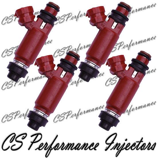 OEM Denso Fuel Injectors Set (4) 195500-3260 for 1998-2001 Chevy Suzuki 1.3L I4