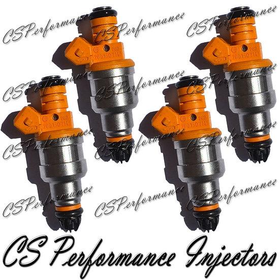 OEM Bosch Fuel Injectors Set (4) 0280150714 for 91-94 BMW 318i 318is 1.8L I4
