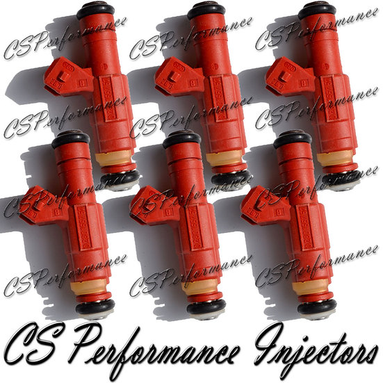 OEM Bosch Fuel Injectors Set (6) 0280155757 for 1994-1999 Mercedes 3.6L 3.2L I6