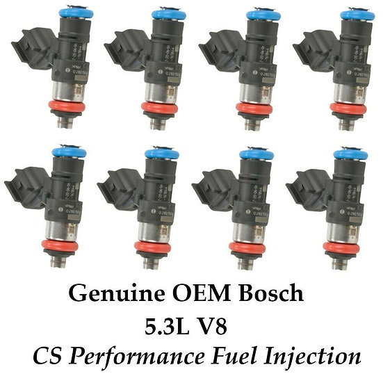 8x Bosch Fuel Injectors 0280158077 for 05-09 Buick Chevy Pontiac 5.3 V8 06 07 08