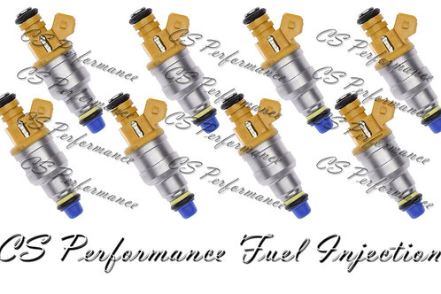 OEM Denso Fuel Injectors Set (8) F1ZE-C2A Rebuilt & Flow Matched in the USA!