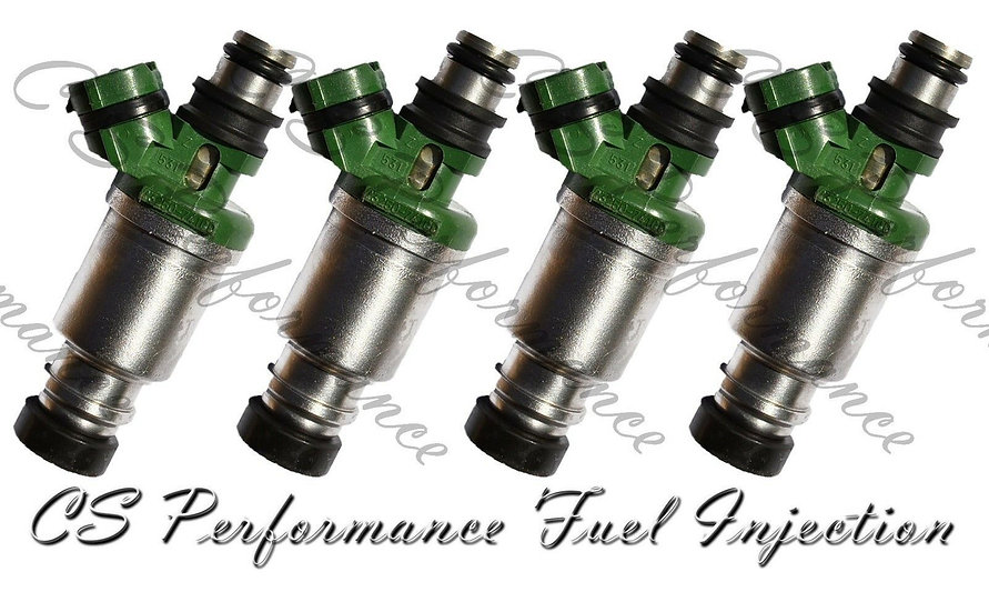 OEM Denso Fuel Injectors Set (4) 23250-74100 for 1992-2000 Toyota 2.0L 2.2L I4