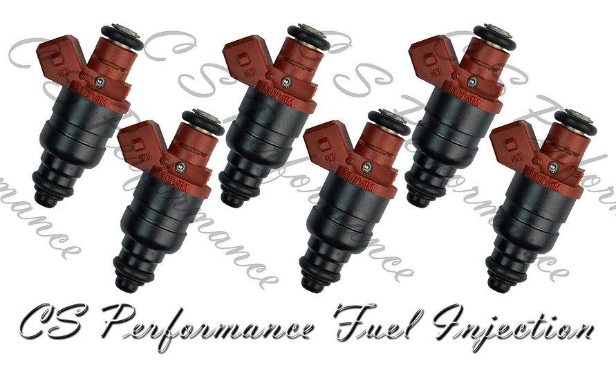 OEM Siemens Fuel Injector Set (6) 078133551BA for 97-05 Audi Volkswagen 2.8L V6