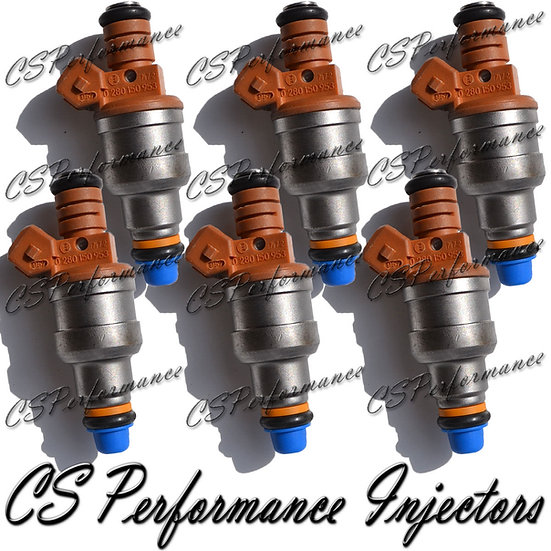 OEM Bosch Fuel Injectors Set (6) 0280150953 1992-1997 Volkswagen 2.8L V6