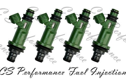 OEM Denso Fuel Injectors Set (4) 195500-3400 for 1996-2001 Subaru 2.2L 2.5L H4