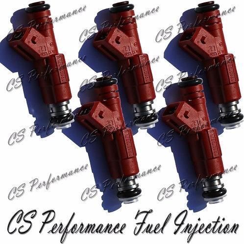 OEM Bosch Fuel Injectors Set (5) 0280155759 for 1996-1998 Volvo 2.4L 2.3L I5