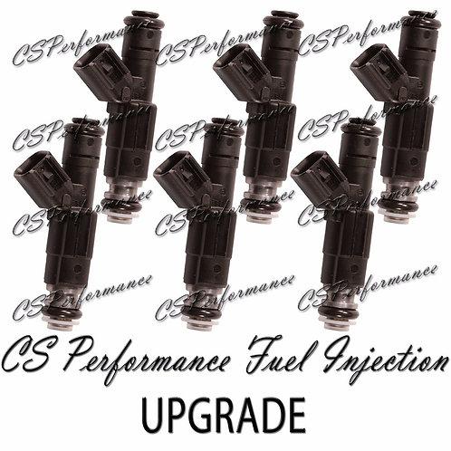 #1 OEM Bosch III UPGRADE Fuel Injectors (6) set for 01-02 Chrysler Dodge 3.8L V6