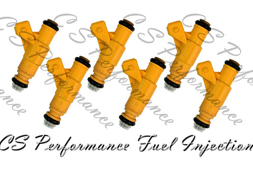 OEM Bosch Fuel Injector Set (6) 0280155900 for 1999-2001 Ford Mercury 4.0L V6
