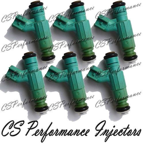 OEM Bosch Fuel Injectors Set (6) 0280156036 for 01-03 Chrysler Dodge 2.7L V6