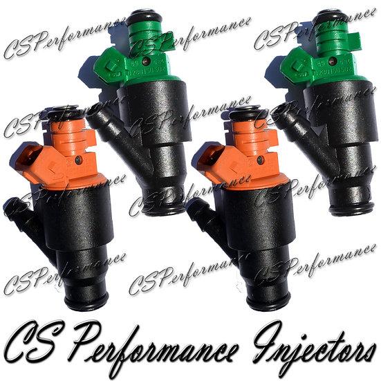 OEM Bosch Fuel Injectors Set (4) 0280150502 0280150504 for Kia 1995-2002 2.0L I4