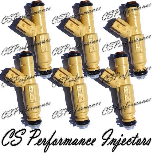 OEM Bosch Fuel Injectors Set (6) 0280155861 for 2000-2002 Mazda Mercury 2.5L V6