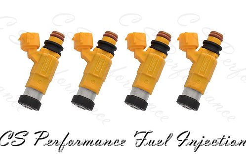 OEM Nikki Fuel Injectors Set (4) CDH-275 for 1997-2000 Mitsubishi 2.4L I4 98 99