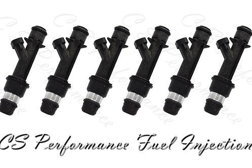 OEM Delphi Fuel Injector (6) 25166922 for 98-04 Isuzu Honda Acura 3.2 3.5 V6