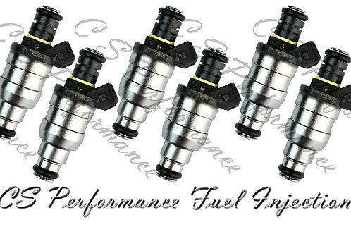 OEM Lucas Fuel Injectors (6) Set D3760FA 1730292 for 1988-1993 BMW 3.5L I6
